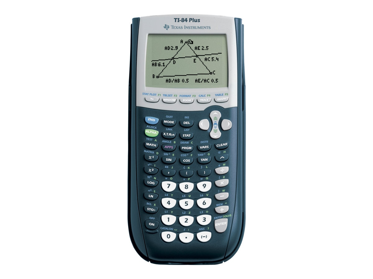 TI TI-84 Plus Graphing Calculator, 84PL/TBL/1L1/A