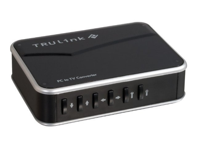 C2G TruLink VGA to Composite PC-TV Video Adapter, 29548, 12543820, Adapters & Port Converters