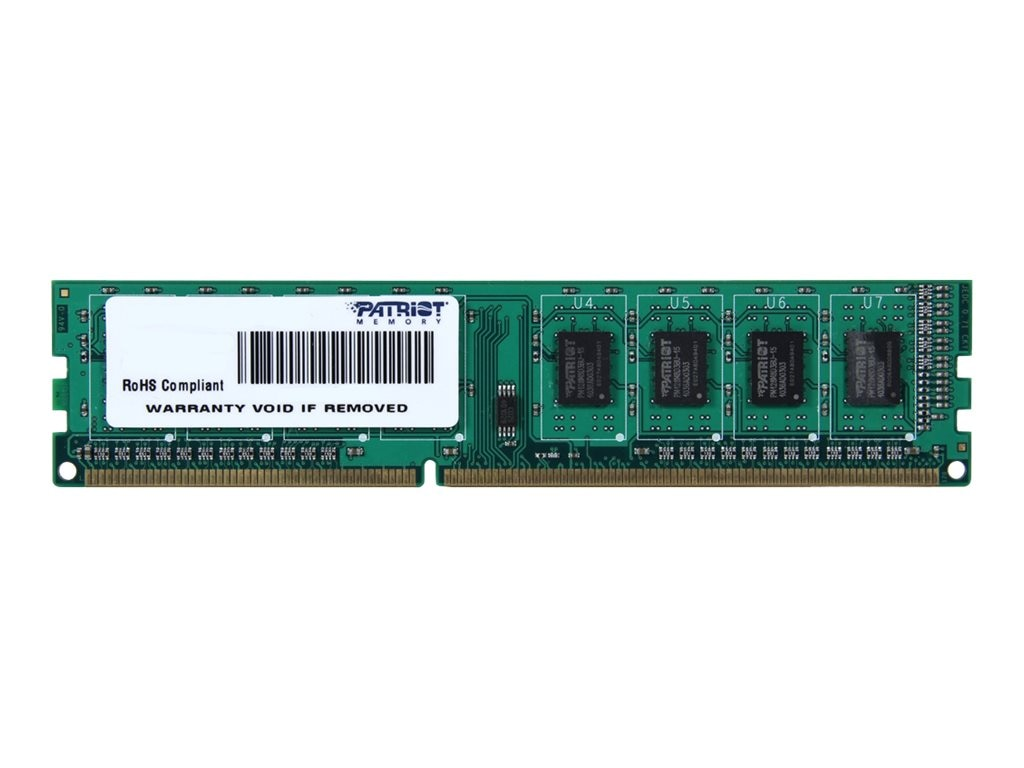 Patriot Memory 8GB PC3-12800 240-pin DDR3L SDRAM UDIMM, PSD38G1600L2