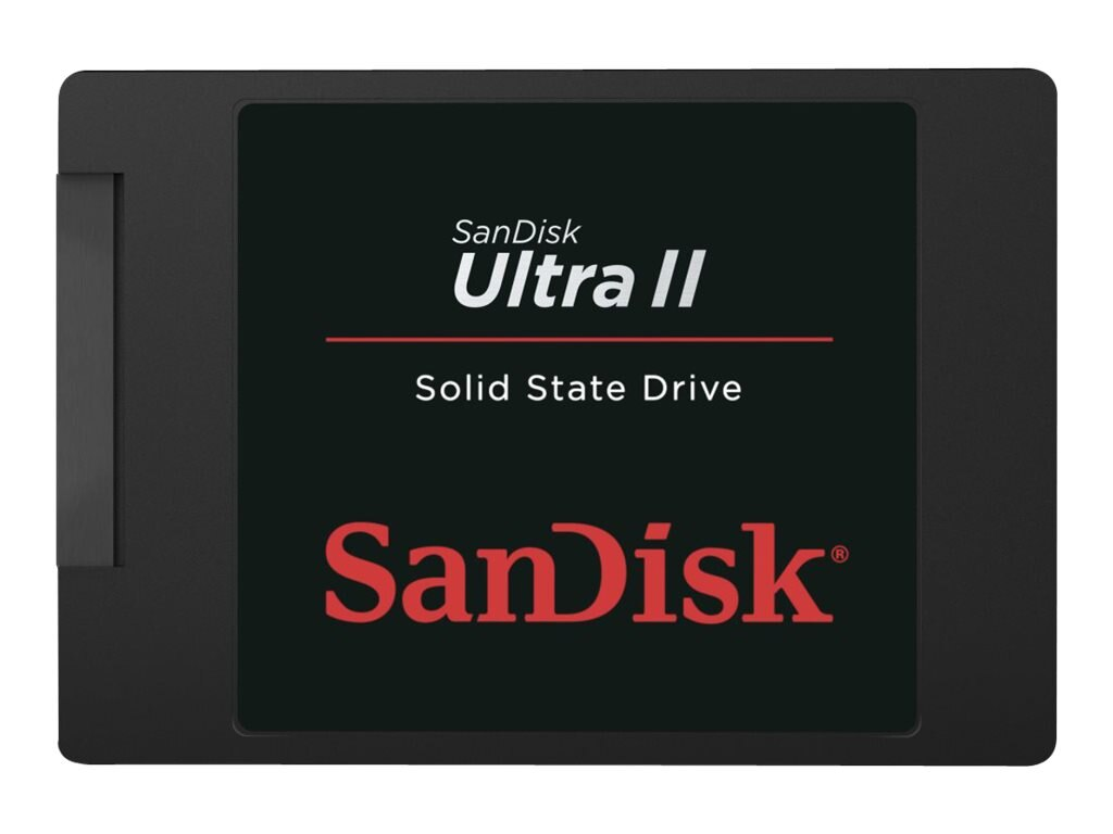 SanDisk 960GB Ultra II Solid State Drive, SDSSDHII-960G-G25, 17818028, Solid State Drives - Internal