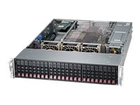 Supermicro SuperChassis 216BE26 2U RM (2x)Intel AMD 24x2.5 HS Bays 7xExpansion Slots 3xFans 2x920W RPS, CSE-216BE26-R920UB, 15274127, Cases - Systems/Servers
