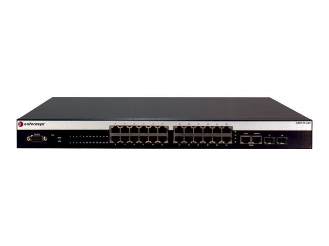 Enterasys A4 24-port 10 100 802.3AF POE L2 Switch, A4H124-24P, 12762344, Network Switches