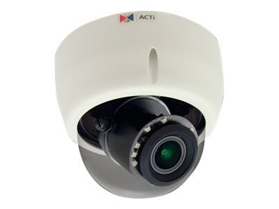 Acti 3MP Indoor Day Night Superior WDR 4.3x Zoom Dome, E618