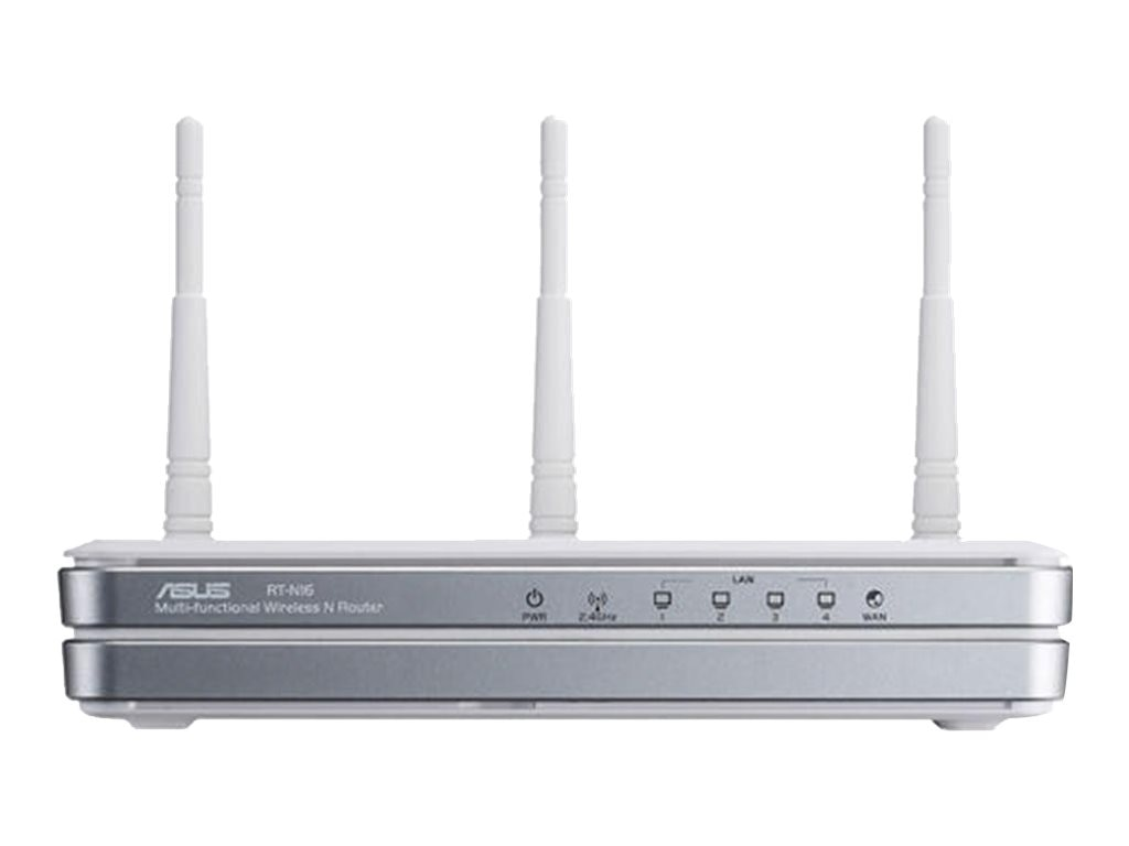 Asus RT-N16 Wireless-N Gigabit Router Retail, RT-N16, 10644598, Broadband Routers