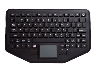 iKEY Rugged Keyboard for In-Vehicle Installation w  Touchpad, SB-87-TP-M