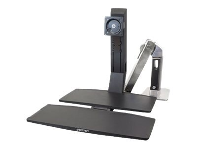 Ergotron WorkFit-A, Single HD with Worksurface+, 24-314-026