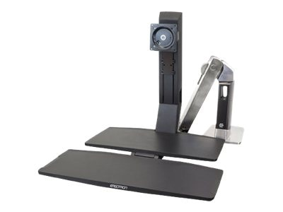 Ergotron WorkFit-A, Single HD with Worksurface+