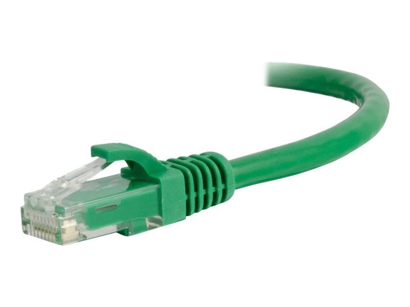 C2G Cat6 Snagless Unshielded (UTP) Network Patch Cable - Green, 1ft