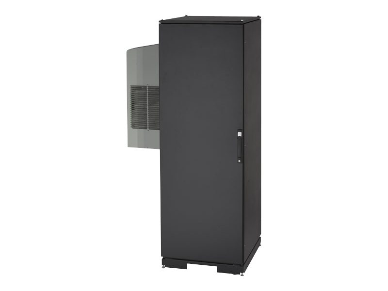 Black Box ClimateCab Server Cabinet, 42U, M6 Rails, 8000 BTU Cooling Capacity, CC42U8000M6-R2, 13908691, Racks & Cabinets