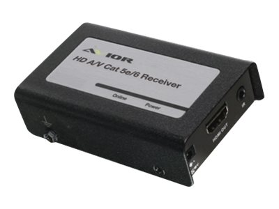 IOGEAR HD Audio Video Cat 5e 6 Receiver, GH8201ER, 14647981, Video Extenders & Splitters