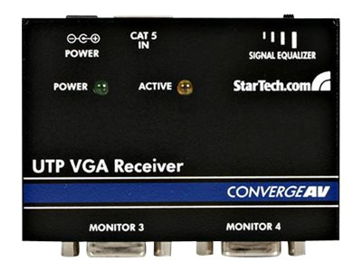 StarTech.com VGA Video Extender Remote Receiver over Cat 5, ST121R