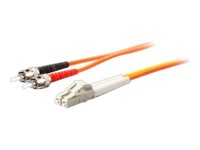 ACP-EP Fiber Conditioning Patch Cable, (2) ST 50 125 to (1) LC 50 125 & (1) LC 9 125, 3m, ADD-MODE-STLC5-3, 15642655, Cables