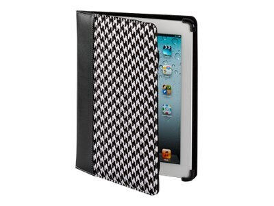 Cyber Acoustics iPad 2, iPad 3 Houndstooth Cover, IC-1053HT