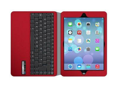 Griffin Slim Keyboard Folio for iPad Air, Red, GB38370, 16402080, Carrying Cases - Tablets & eReaders