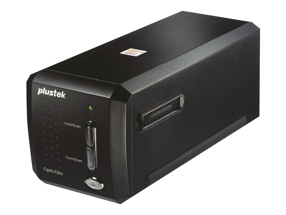 Plustek OpticFilm 8200i Ai 35mm Film Scanner, 7200dpi, 48-bit, USB 2.0, SilverFast Ai Studio 8