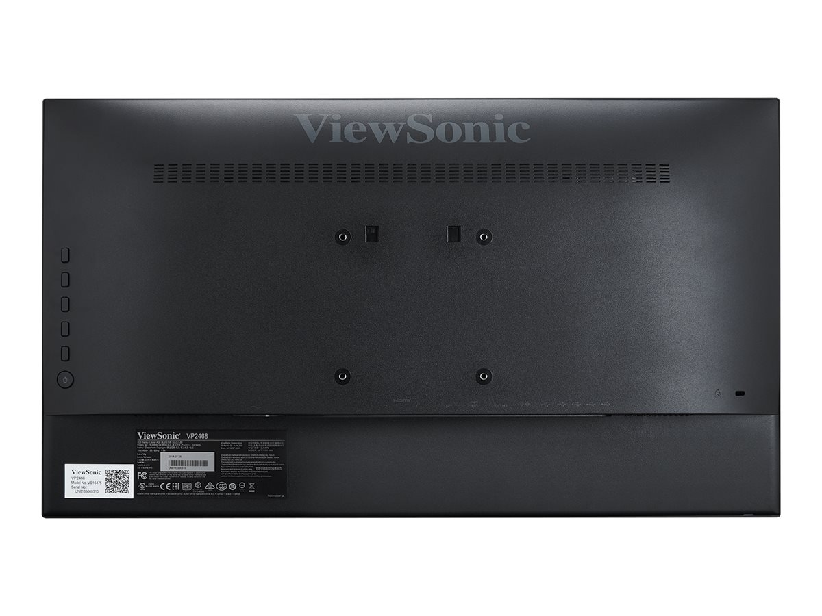 ViewSonic (2) 23.8 VP2468 Full HD LED-LCD Monitors, VP2468_H2