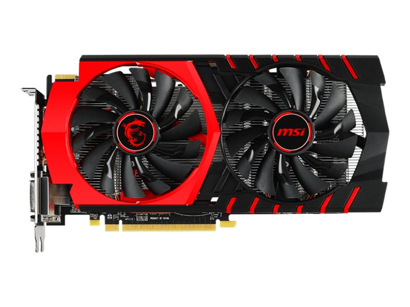 Microstar Radeon R7 370 PCIe Graphics Card, 4GB GDDR5, R7 370 GAMING 4G, 23306125, Graphics/Video Accelerators