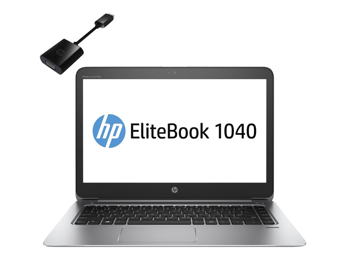 HP EliteBook 1040 G3 2.4GHz Core i5 14in display, V1N29AW#ABA
