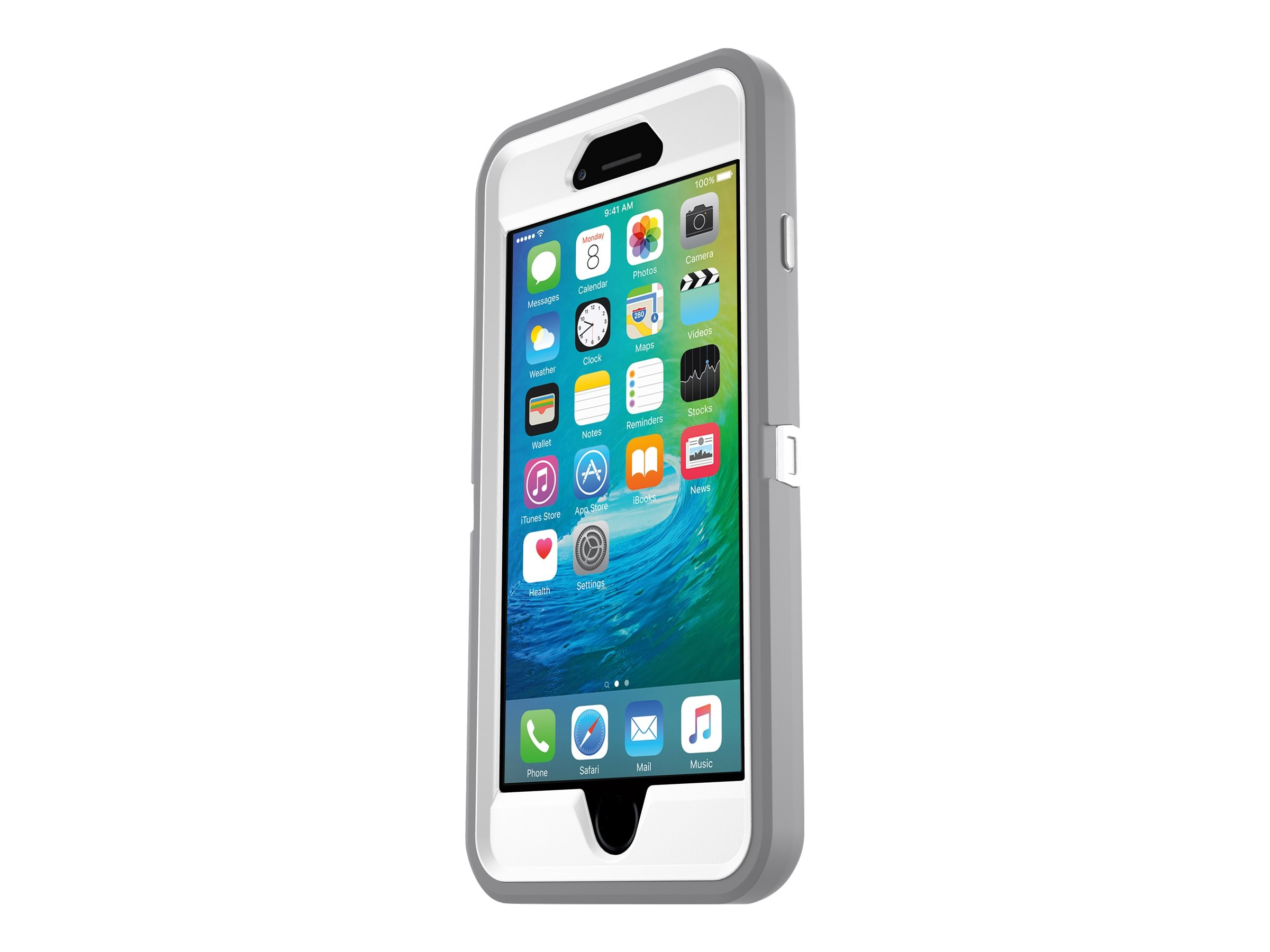 OtterBox Defender Case for iPhone 6 Plus, 6s Plus, Glacier