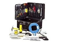 Jensen Tools Master Telecom Installers Kit in X-Tra Rugged Rota-Tough Case, JTK-51, 270230, Tools & Hardware