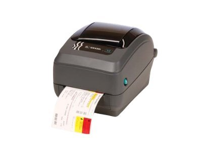 Zebra GX430T TT 4 300dpi EPL2 ZPLII USB Serial BT Printer w  Cutter & Black Line Sensor, GX43-102812-150