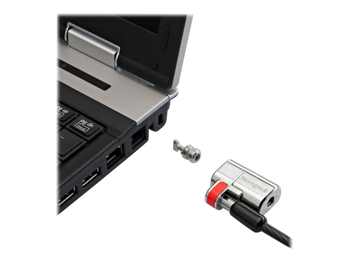 Kensington ClickSafe Keyed Laptop Lock, K64637WW