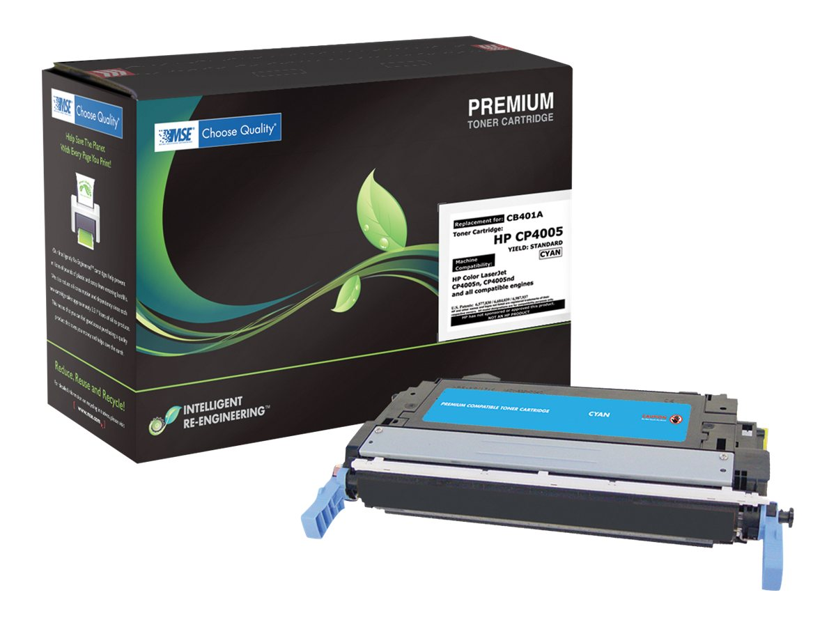 CB401A Cyan Toner Cartridge for HP CP4005, 02-21-40114