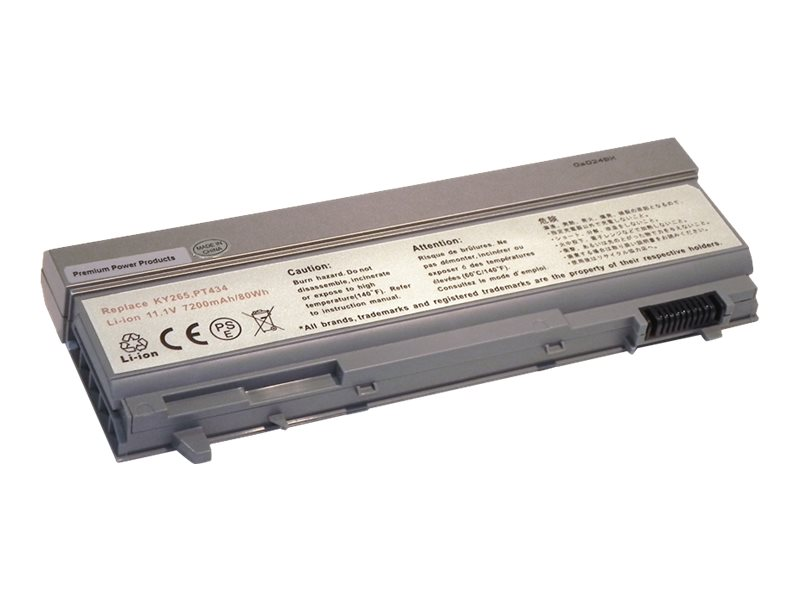 Ereplacements 9-Cell Battery for Dell E6400 E6410 E6500, 312-7415-ER, 21163909, Batteries - Notebook