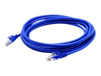 ACP-EP CAT6A UTP Snagless Copper Cable, Blue, 8