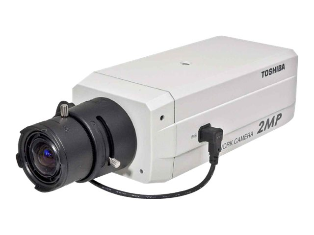 Toshiba 2MP IP Network Camera Day Night PoE 1600X 1200 MPEG4 & MJPEG EPTZ (No Lens), IK-WB30A, 10990271, Cameras - Security