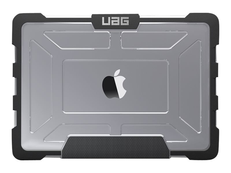 Urban Armor 12 Macbook Ice Black Case, UAG-MB12-A1534-ICE