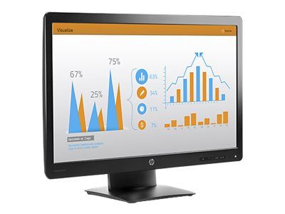 HP 23 ProDisplay P232 Full HD LED-LCD Display, Black, K7X31AA#ABA
