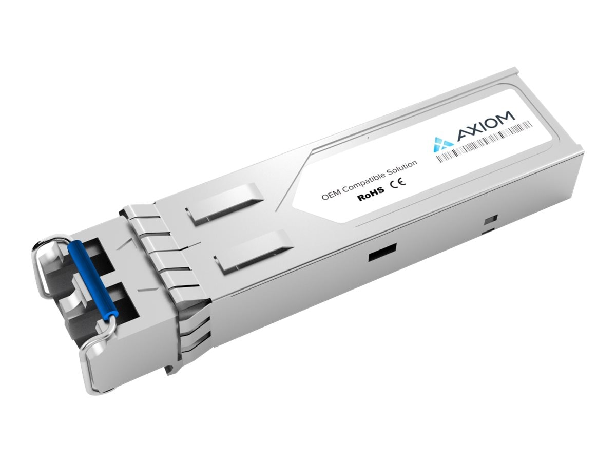 Axiom 1000BASE-LX SFP Transceiver for Juniper - QFX-SFP-1GE-LX, QFXSFP1GELX-AX
