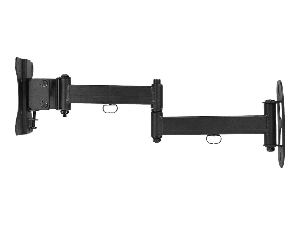 Siig Articulating LCD TV Monitor Mount for 10-27 Displays, CE-MT1B12-S1