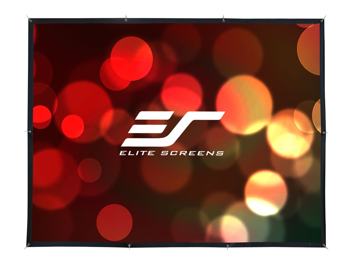 Elite DIY Outdoor Movie Screen, DynaWhite, 16:9, 133