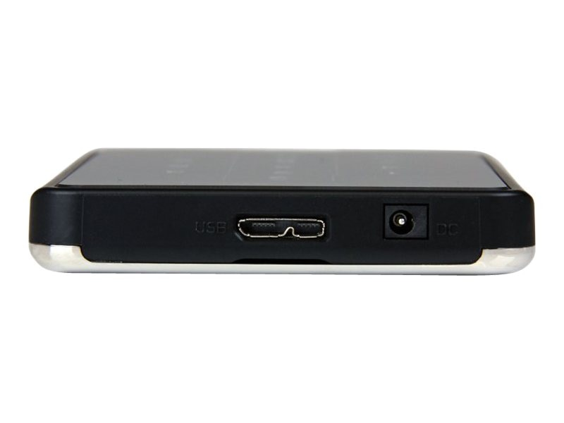 StarTech.com 2.5 Portable Encrypted SATA to USB 3.0 Hard Drive Enclosure, S2510BU3PW