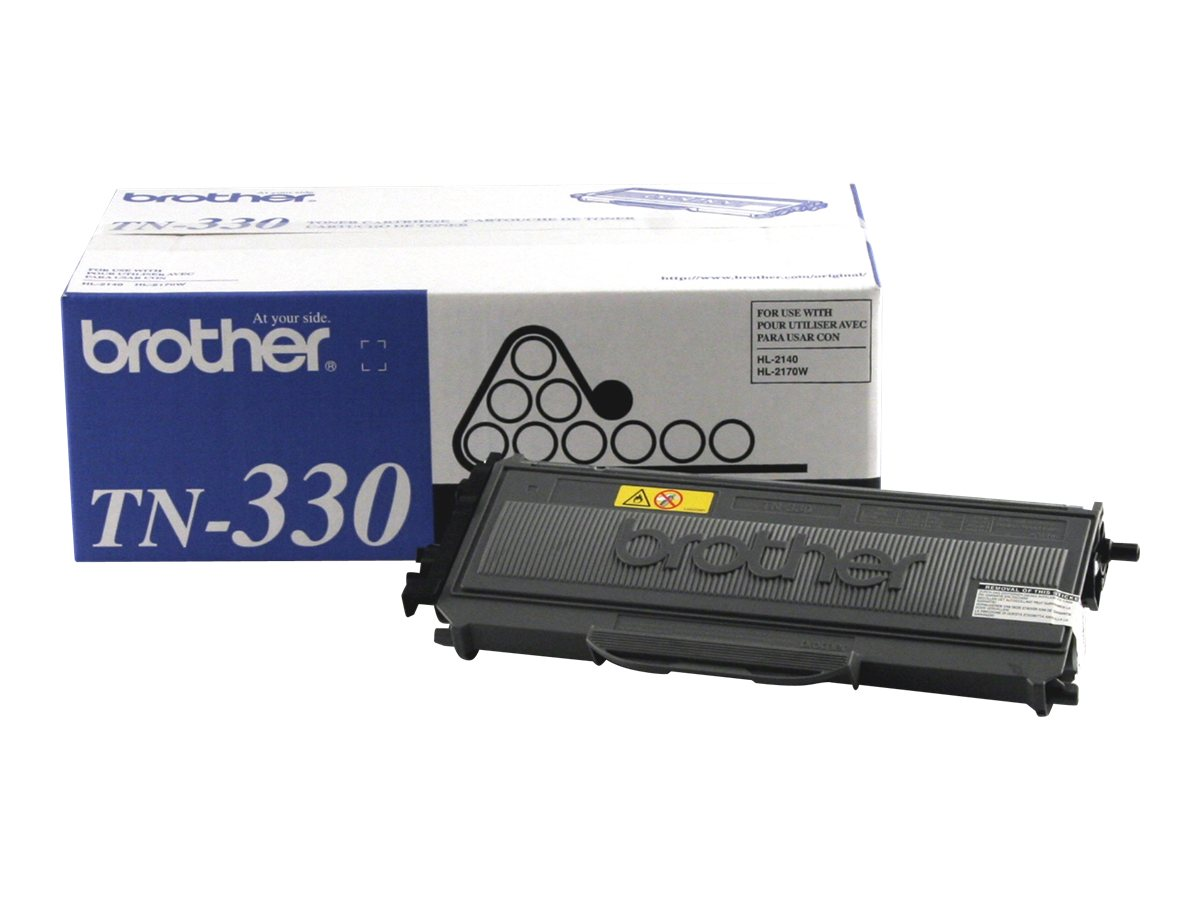 Brother Black TN330 Toner Cartridge for HL-2140 & HL-2170W Printers, TN330