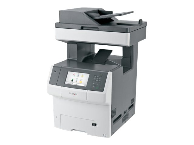 Lexmark X748de Color Laser MFP, 34T5012, 13934697, MultiFunction - Laser (color)