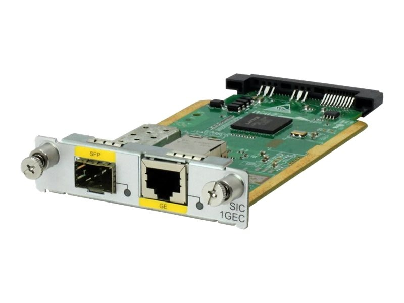 HPE MSR 1P GBE Combo SIC Module, JG738A, 17765536, Network Device Modules & Accessories