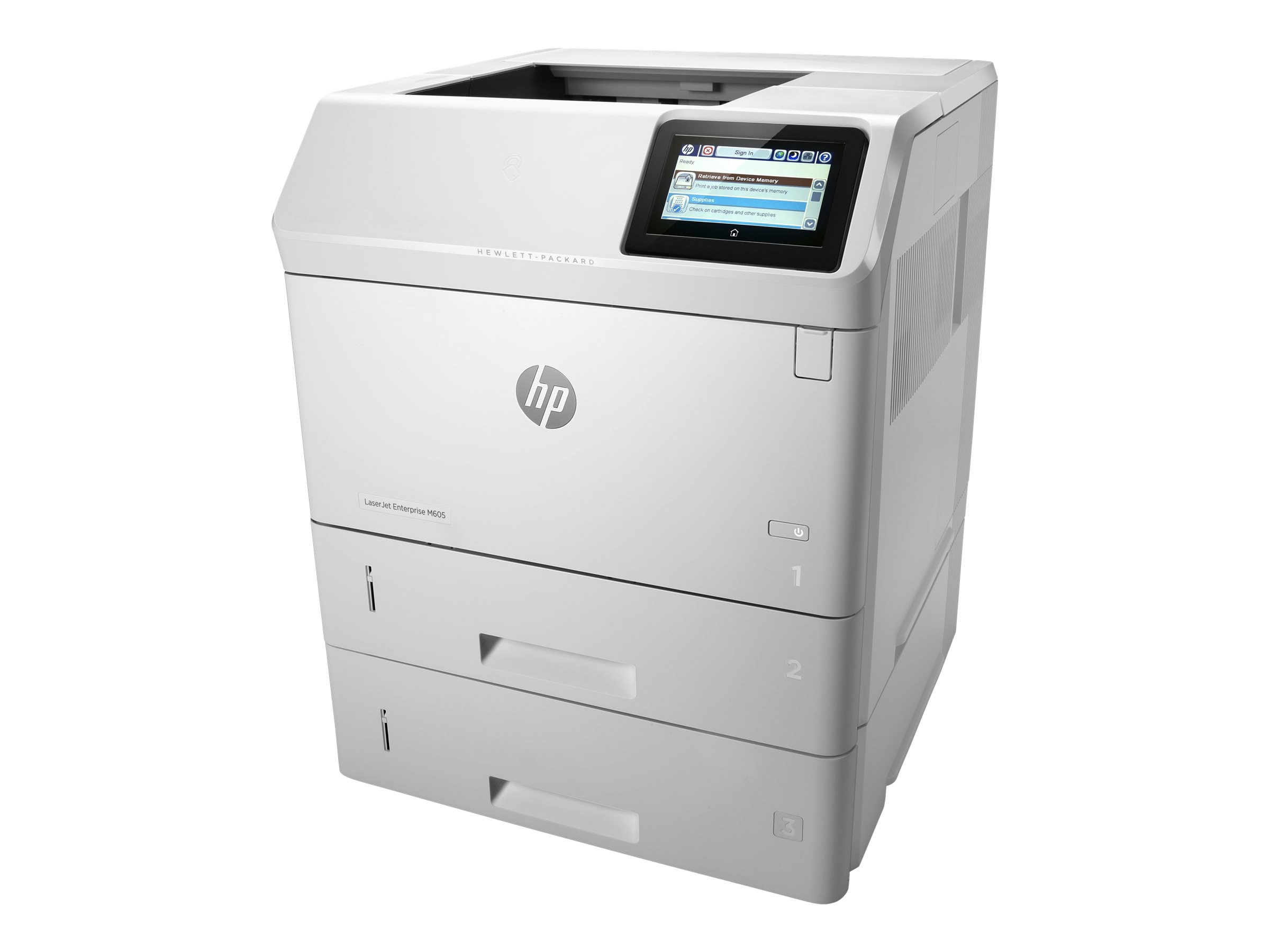 HP LaserJet Enterprise Managed M605xm Printer, L3U54A#BGJ, 21481747, Printers - Laser & LED (monochrome)