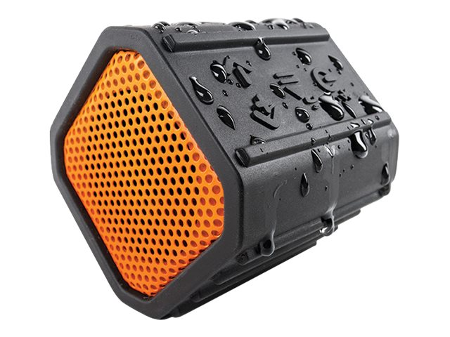 Grace Digital Audio Floating Bluetooth Speaker - Orange