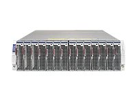 Supermicro Chassis, MicroBlade 314E-220 for up to 14 Hot-Plug Server Blades