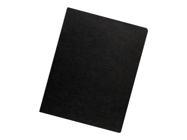 Neato Expressions Binding Covers, Linen Black, Oversize, 200-Pack, 52115