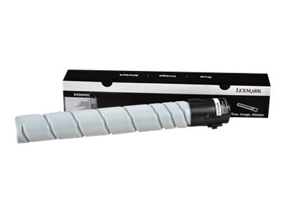 Lexmark Black High Yield Toner Cartridge for MX910de, MX911dte & MX912dxe, 64G0H00