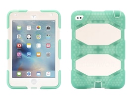 Griffin Survivor AT for iPad mini 4, Green White, GB41363, 30905231, Protective & Dust Covers