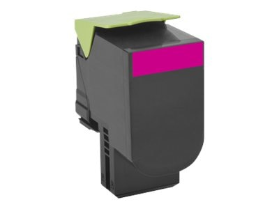 Lexmark 701M Magenta Return Program Toner Cartridge, 70C10M0