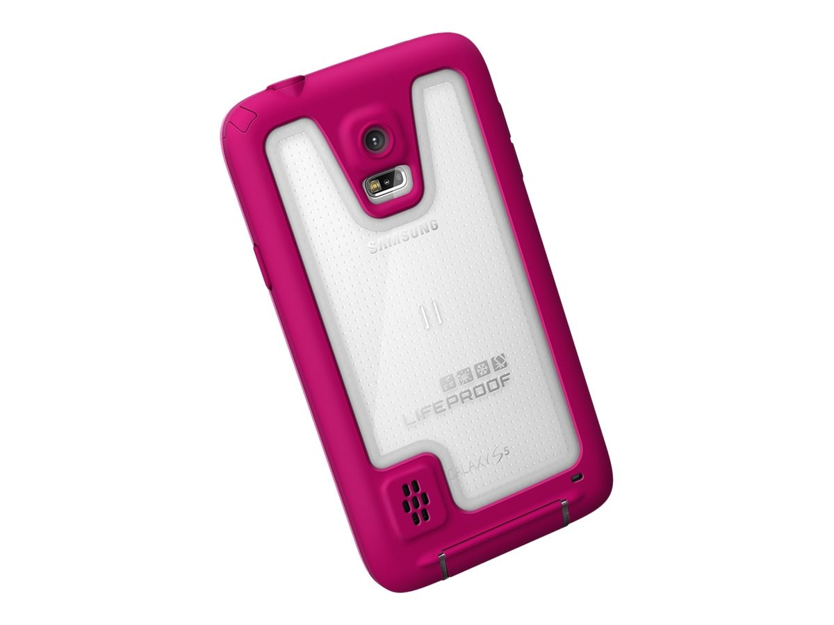 Lifeproof Fre Case for Samsung Galaxy S5, Magenta Dark Magenta, 2401-04, 18817377, Carrying Cases - Phones/PDAs