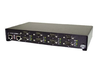 Comtrol DeviceMaster Pro 8-Port RoHS RS232 422 485 Serial to Ethernet Surge