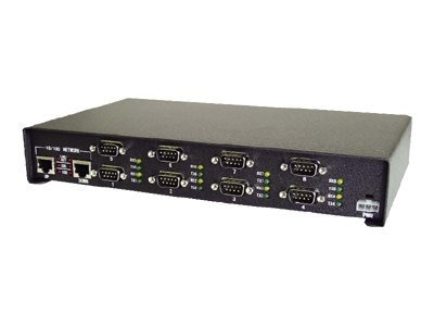 Comtrol DeviceMaster Pro 8-Port RoHS RS232 422 485 Serial to Ethernet Surge, 99443-5, 7266451, Remote Access Servers