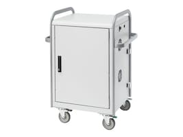 Bretford Manufacturing 20-Unit Network Ready Transport Laptop Cart, MDMLAP20NR-CTAL, 15009868, Computer Carts